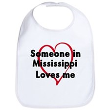 Loves me: Mississippi Bib