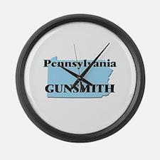 Pennsylvania Gunsmith Large Wall Clock