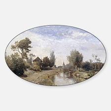 Landscape at Kortenhoef Paul JC  Decal