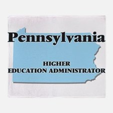 Pennsylvania Higher Education Admini Throw Blanket