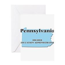 Pennsylvania Higher Education Admin Greeting Cards