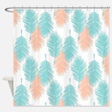 coral and turquoise shower curtains coral and turquoise fabric