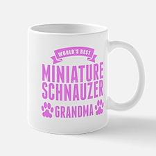 Worlds Best Miniature Schnauzer Grandma Mugs