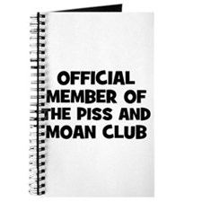 Official Member of the Piss a Journal