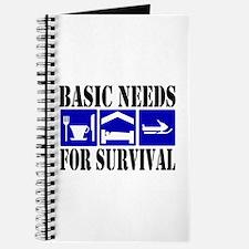Basic Needs for Survival Journal