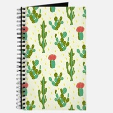 Cactus Pattern Journal