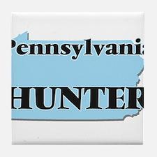 Pennsylvania Hunter Tile Coaster