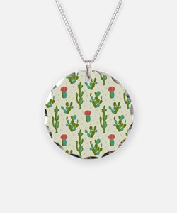 Cactus Pattern Necklace