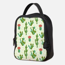 Cactus Pattern Neoprene Lunch Bag