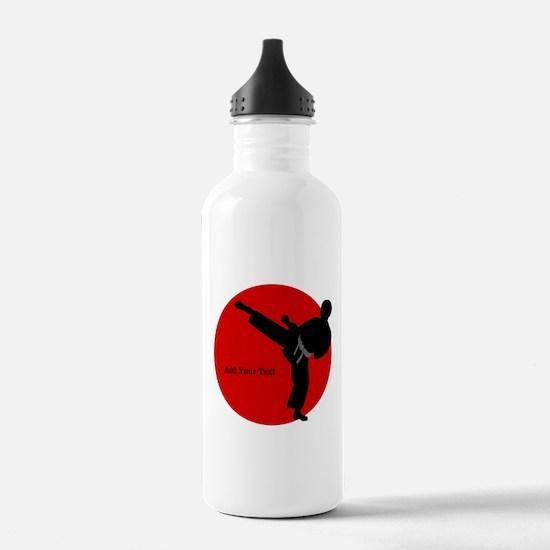 Karate Sports Water Bottle