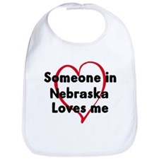 Loves me: Nebraska Bib