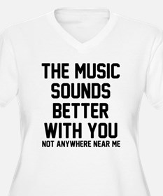 The music sounds T-Shirt