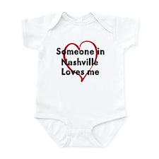 Loves me: Nashville Infant Bodysuit