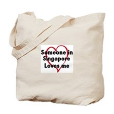 Loves me: Singapore Tote Bag