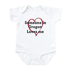 Loves me: Oregon Infant Bodysuit