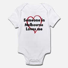 Loves me: Melbourne Infant Bodysuit