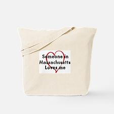 Loves me: Massachusetts Tote Bag