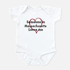 Loves me: Massachusetts Infant Bodysuit