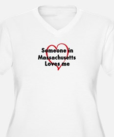 Loves me: Massachusetts T-Shirt