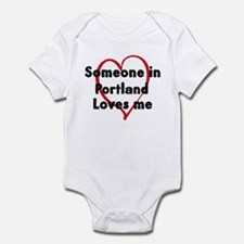 Loves me: Portland Infant Bodysuit