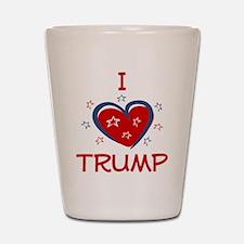 I Heart Trump Shot Glass