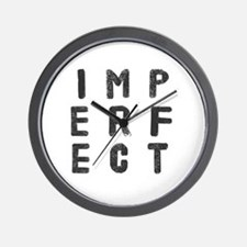 Cool Imperfect Wall Clock