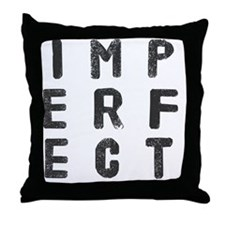 Cool Imperfect Throw Pillow