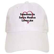 Loves me: Santa Monica Baseball Cap