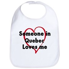 Loves me: Quebec Bib