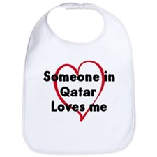 Loves me: Qatar Bib
