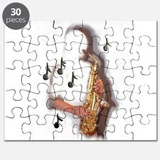 Abstract Saxophone player Puzzle