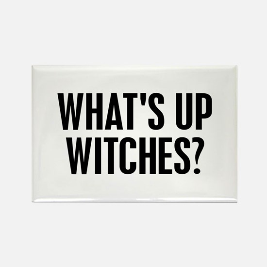 Halloween what's up witches? Rectangle Magnet