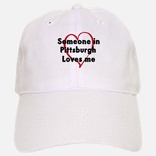 Loves me: Pittsburgh Baseball Baseball Cap
