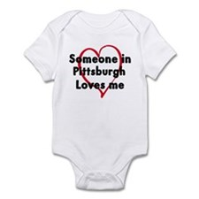 Loves me: Pittsburgh Infant Bodysuit