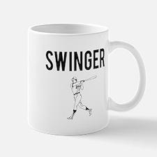 Baseball Swinger Mug