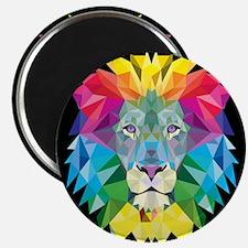 Rainbow Lion Magnets