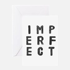 Imperfect (Stamp) Greeting Cards