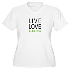 Live Love Algebra T-Shirt