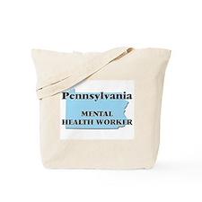 Pennsylvania Mental Health Worker Tote Bag