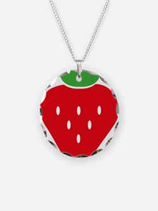 Unique Strawberry Necklace