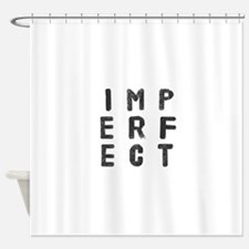 Imperfect (Stamp) Shower Curtain