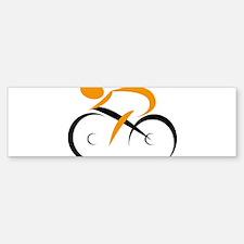 cycling Bumper Bumper Bumper Sticker