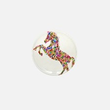 Prismatic Rainbow Unicorn Mini Button (10 pack)