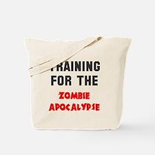 Training zombie apocalypse Tote Bag