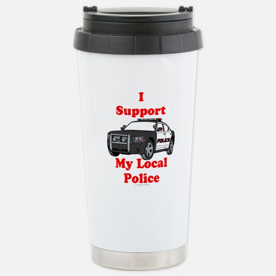 Support Local Police Travel Mug