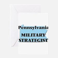 Pennsylvania Military Strategist Greeting Cards