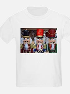 Three christmas nutcrackers T-Shirt
