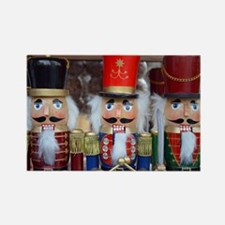 Three christmas nutcrackers Magnets