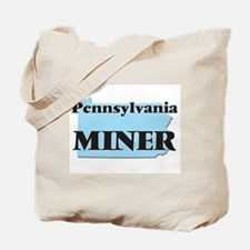 Pennsylvania Miner Tote Bag