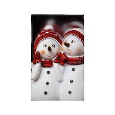 Snowman20150907 Area Rug